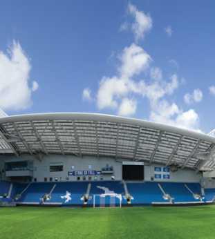Brighton & Hove Albion 360º Amex Stadium Wallpaper | Arenaroom