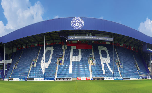 Queens Park Rangers 360º Loftus Road Stadium Wallpaper